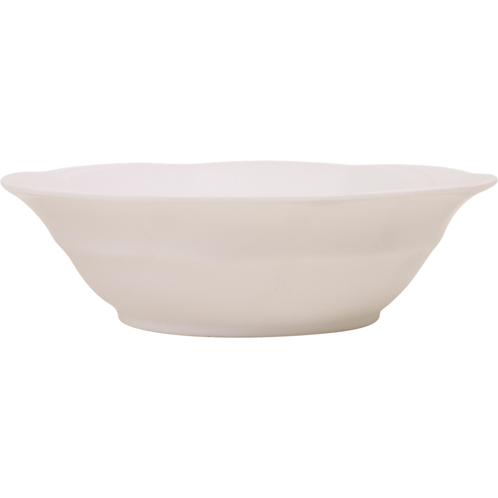 Melamine Soup Bowl in White - Rice By Rice