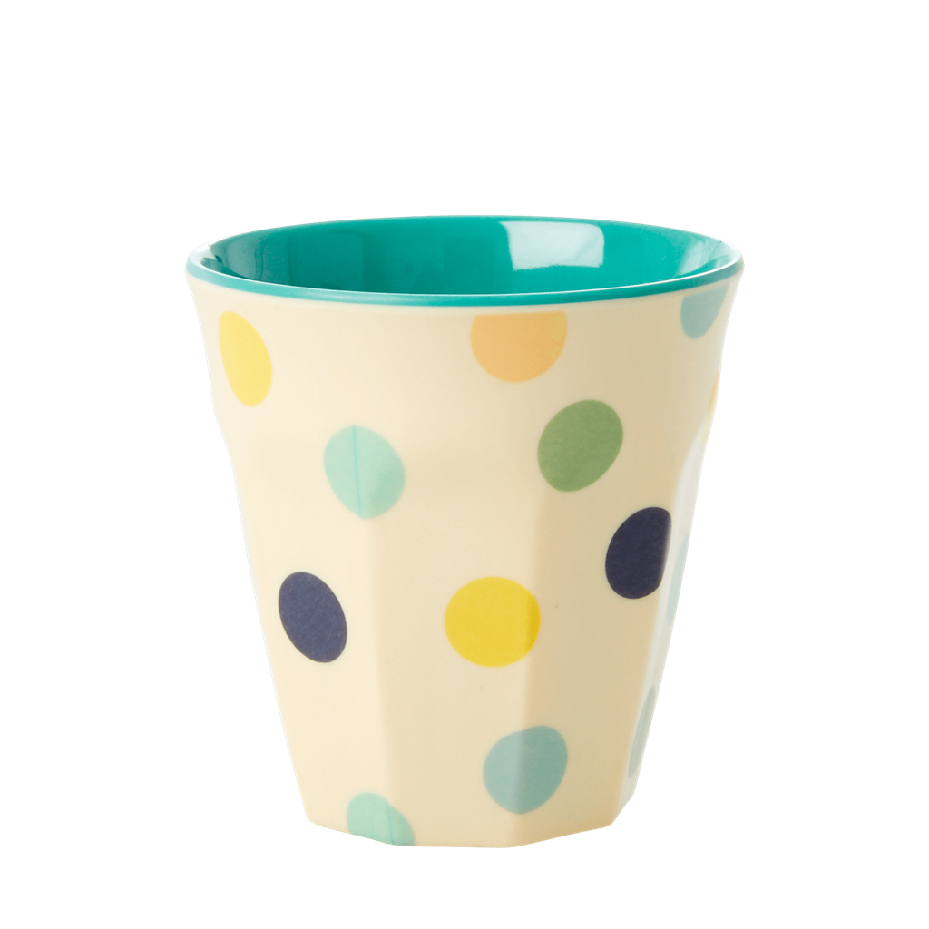 Melamine Cups with Assorted Jungle Print - Small - 6 pcs. in Gift Box