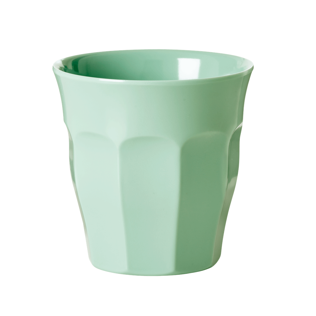 Melamine Cup in Assorted Solid Colors - Medium