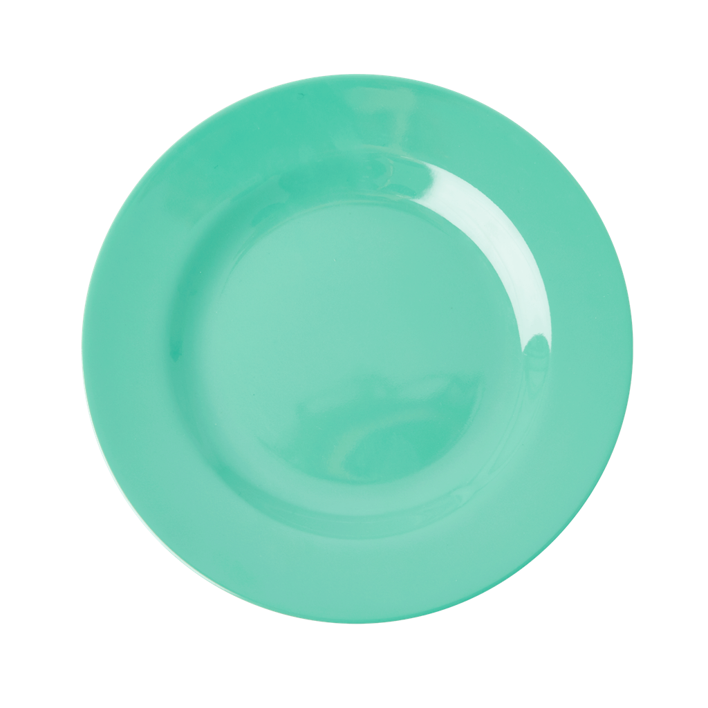 Melamine Lunch Plate in Emerald Green