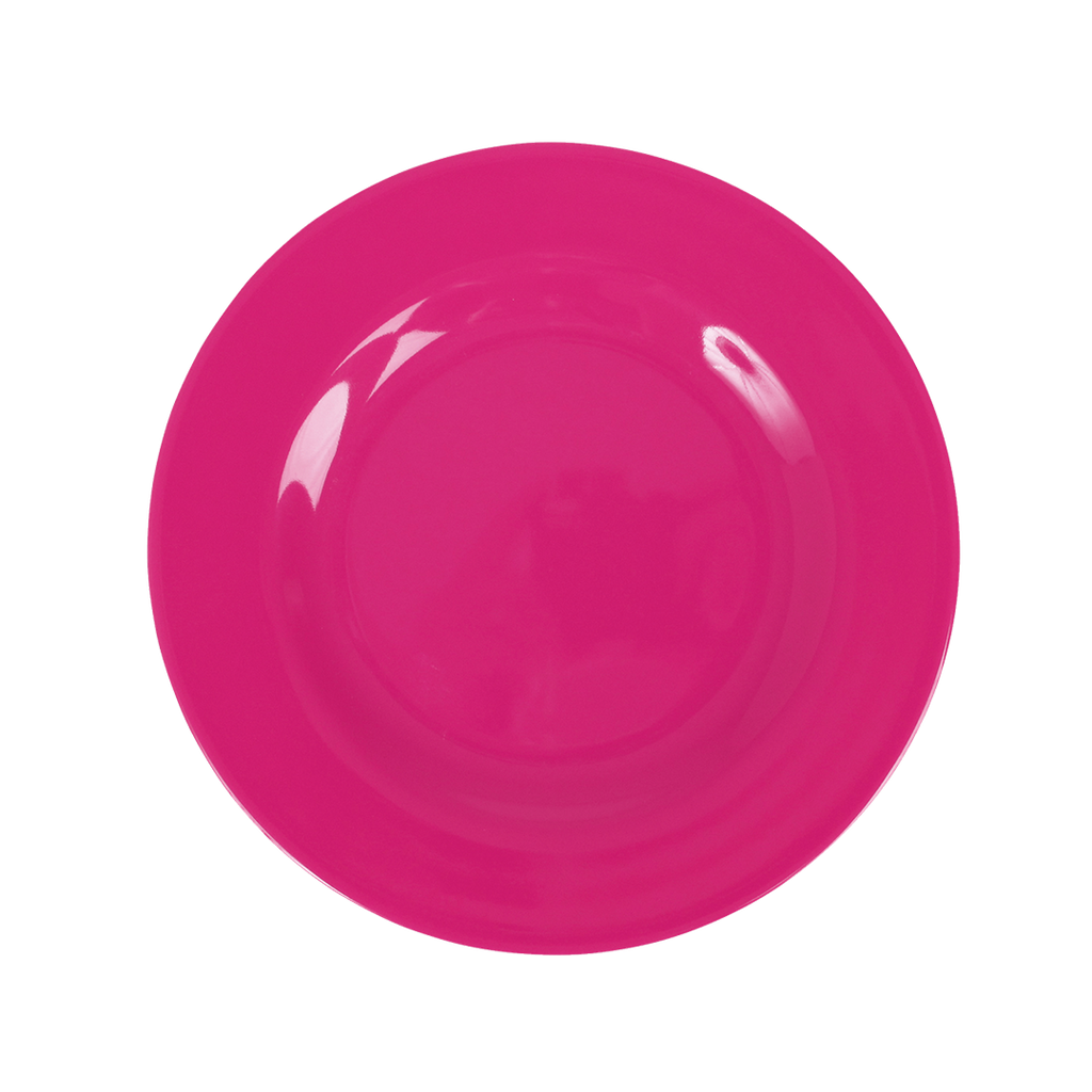 Melamine Lunch Plate | Fuchsia - Rice By Rice