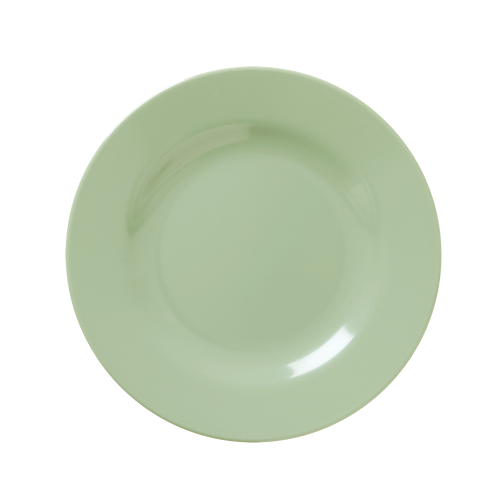 Melamine Lunch Plate in Khaki