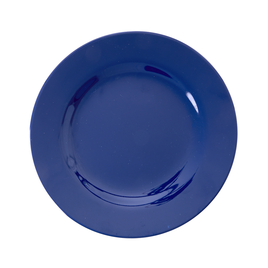 Melamine Lunch Plate | Navy Blue - Rice By Rice