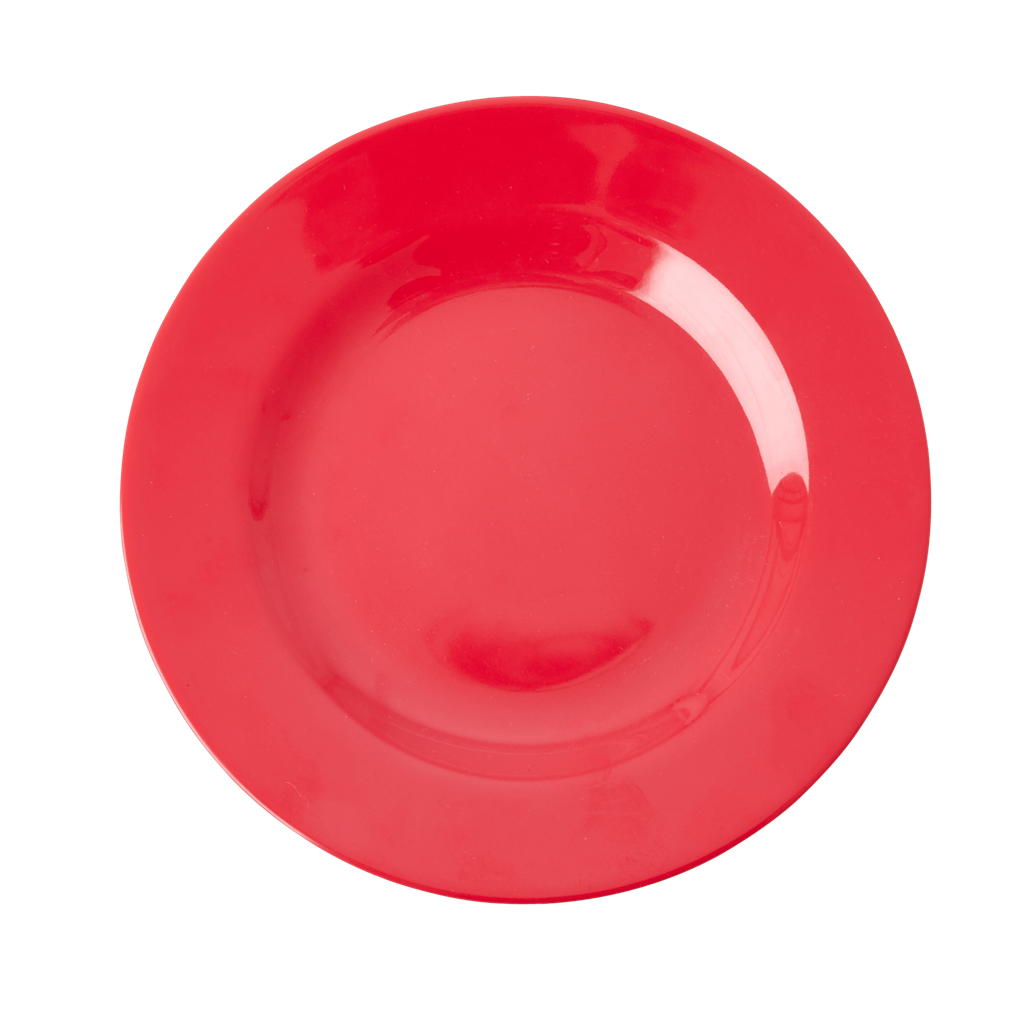 Melamine Lunch Plate | Red Kiss - Rice By Rice