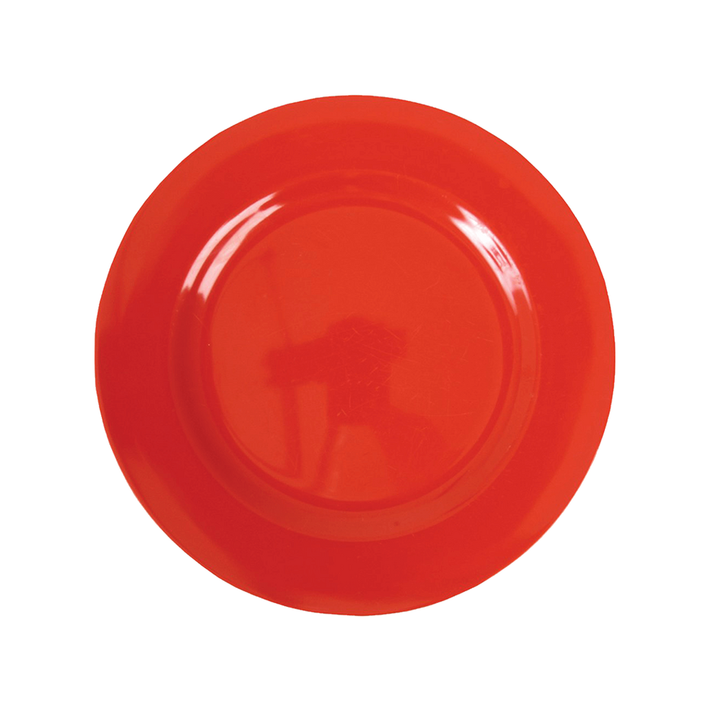 Melamine Lunch Plate | Red - Rice By Rice