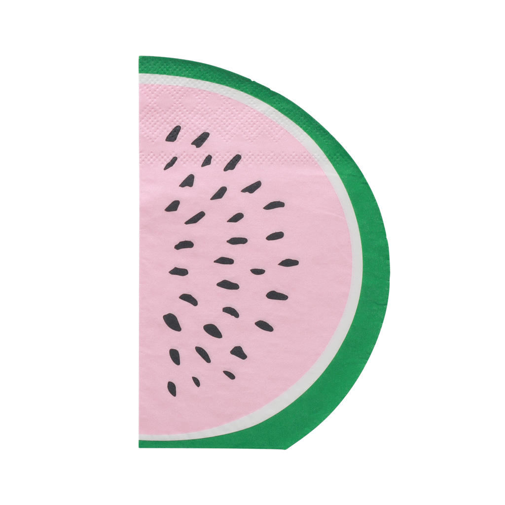 Watermelon Napkins - 20 pcs.