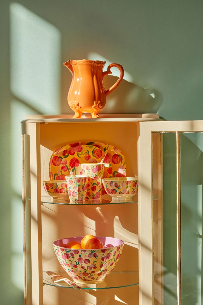 Melamine Cup - Tall in Peach - Rice By Rice