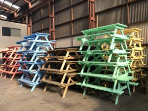 picnic tables for hire | eventhire nz