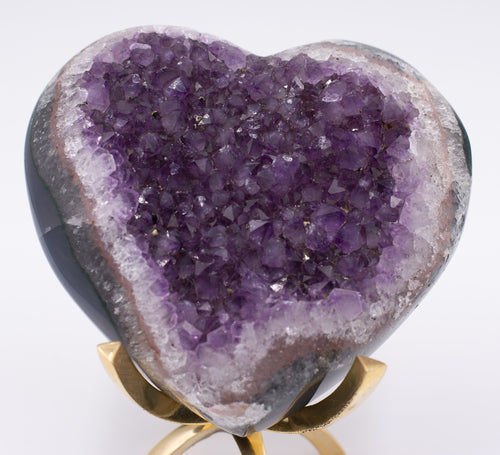 Amethyst Galaxy Heart B
