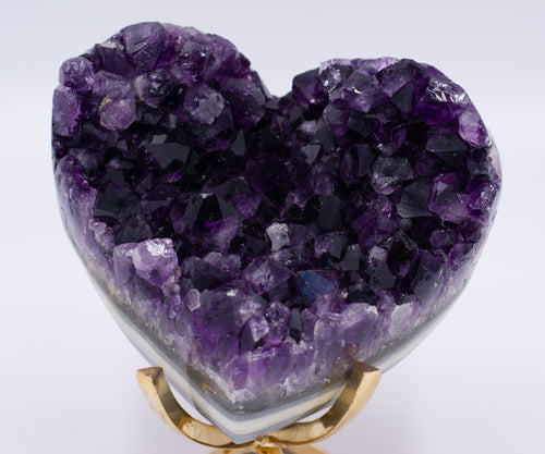 Amethyst Galaxy Heart A