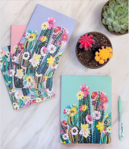 Studio Oh! Desert Blossoms Notebook Trio