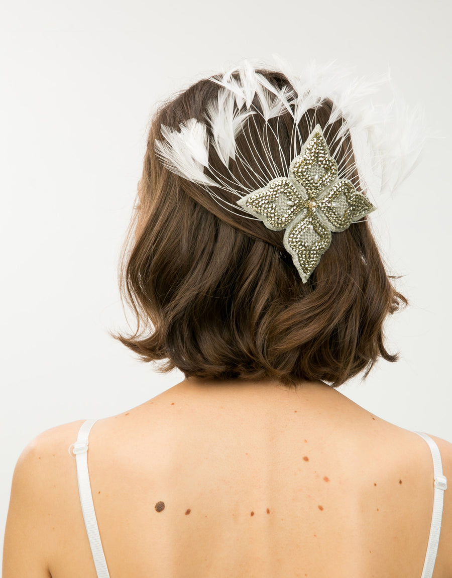 Grand Italianate Fascinator