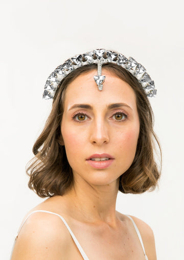 Nordic Triangle Crown - Crystal