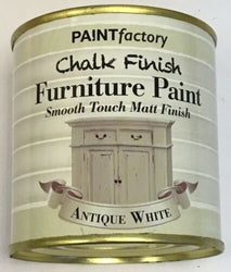 1 x 650ml Shabby Chic Effect Chalk finish Furniture Paint Antique White