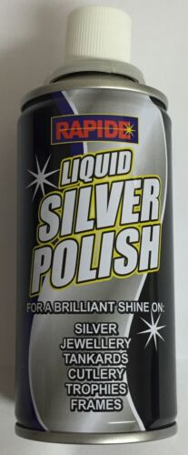 Rapide Liquid Metal Polish Silver Brass Aluminium Chrome Copper Stainless Steel