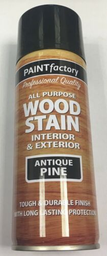 1 x 400ml All Purpose Antique Pine Wood Stain Spray Paint Interior/Exterior