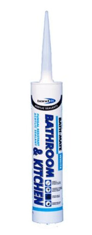 BOND IT BATH MATE BATHROOM AND KITCHEN acrylic sealant WHITE silicone seal