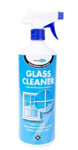 1 Litre Bond It Clear Glass Cleaner Building House