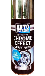5 x Auto Spray Paint Chrome Silver Spray 200ml Cars And Vans