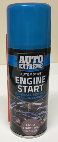 AUTO EXTREME ENGINE START 200ML SPRAY CAR TRUCK PETROL & DIESEL EASY START