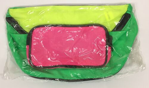 MULTI COLOURED BUM BAG FANNY PACK TRAVEL MONEY FESTIVAL HOLIDAY