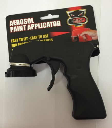 Spray Paint Areosol Applicator Trigger Gun Professional Rapide Mean Machine New
