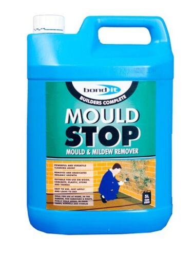 5l MOULD STOP REMOVING MOULD MILDEW WALLS CEILINGS ALGAE MOSS FUNGICIDAL Bond It