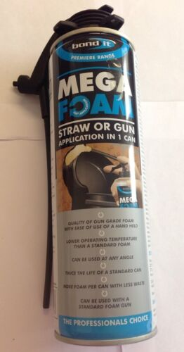 Bond It - Mega Foam / Expanding Foam 500ml Gun Grade