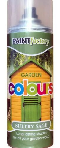 Sultry Sage Garden Aerosol Spray Paint Lasting Shades For Wood 400ml