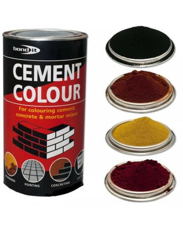 1Kg Black Powdered Cement Dye Bond It Building Supplies