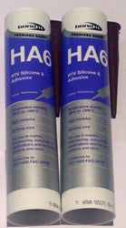 2 X Bond It - HA6 Marine Silicone Sealant - BROWN aquarium,fish tank sealer