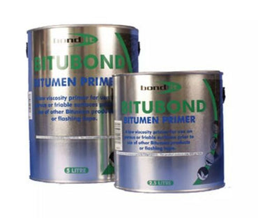 Bond It Black 2.5L Bitumen Primer Paint