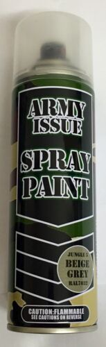 4xArmy Camouflage Combat Fishing Auto Spray Paint Colours 250ml BEIGE GREY