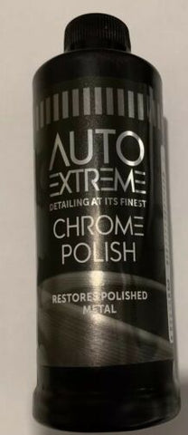 1 x Easy Use Auto Extreme Super Shine & Restoring Liquid Chrome Polish 300ml