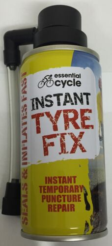 5 x 200ml Instant Bicycle Cycle Bike Puncture Repair Tyre Fix Sealant & Inflates