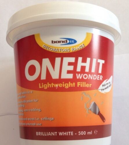 Bond It - One Hit Wonder Lightweight Filler 500ml