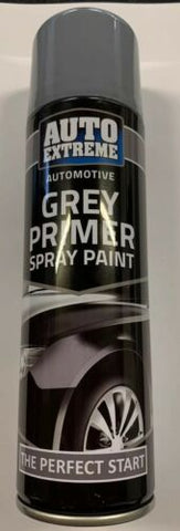 2x Auto Extreme Grey Primer Aerosol Spray Paint Perfect Bike Car Van DIY 250ML