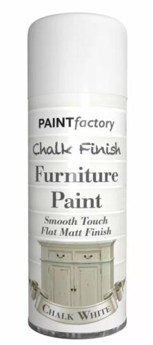 Chalk White Chalk Furniture Paint Spray Smooth Touch Matt Finish Shabby Chic