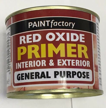 3 X RED OXIDE PRIMER Paint High Performance Tough Durable Metal Work 170ml