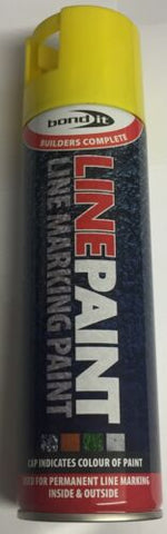 Bond It - Line Marker Paint Yellow 500ml *NEW* building