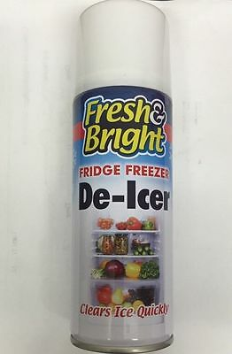 5 x Multi Direction Fridge Freezer Defrost Clean Antibacterial Ice Melt DE-ICER