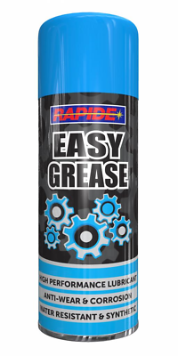 1 x Easy Grease Spray Lubricant Synthetic Oil Waterproof Rust Protection 400ml