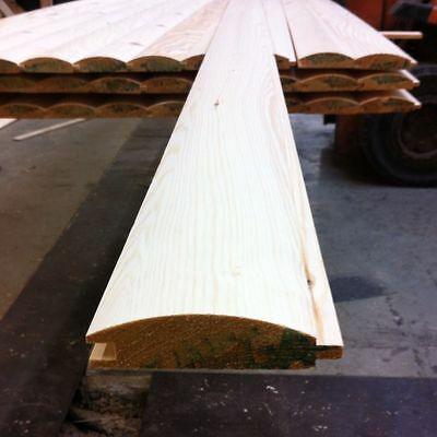 LOGLAP T&G PINE REDWOOD CLADDING 85X22 - 42x 2.4m lengths