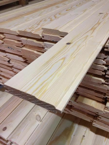 SHIPLAP CLADDING PINE T&G REDWOOD (110x20) £1.10 P/M INC VAT!