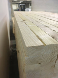TIMBER 3X2 PLANED EASY EDGE 75X45 100 METERS