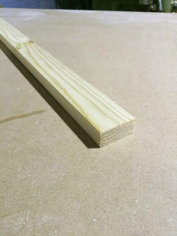 2X1 Pine Timber PSE 10 X 2.4M Length DIY Quick Fix (45x20mm) INC DELIVERY