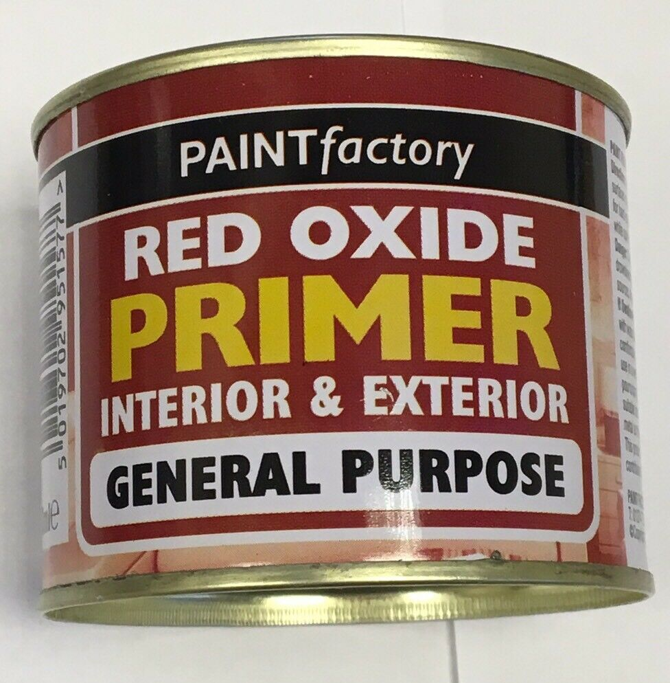 10 X RED OXIDE PRIMER Paint High Performance Tough Durable Metal Work 170ml