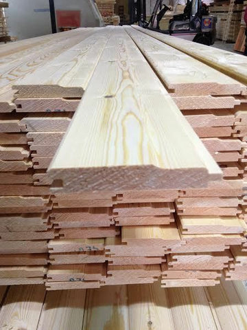 Pine Timber T&G Shiplap Cladding 110 X 20mm 2.1MTR X 5 Lengths