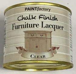 3 x 200ml Shabby Chic Effect Chalk finish Furniture Lacquer Clear
