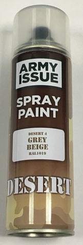 5 x Army Camouflage Combat Fishing Auto Spray Paint Colours 250ml GREY BEIGE
